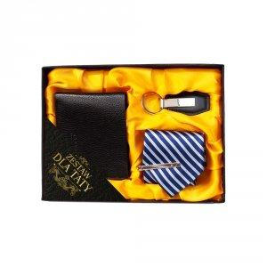 Zestaw Dla Taty - portfel, brelok, krawat - mix wzorów