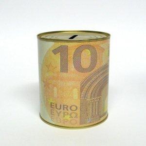 SKARBONKA METALOWA 10 EURO