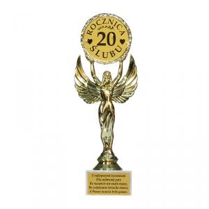 Statuetka Victoria '20 rocznica ślubu'