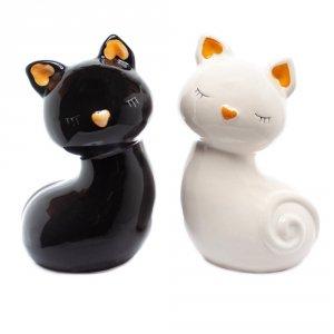 Skarbonka ceramiczna kotek, mix wzorów