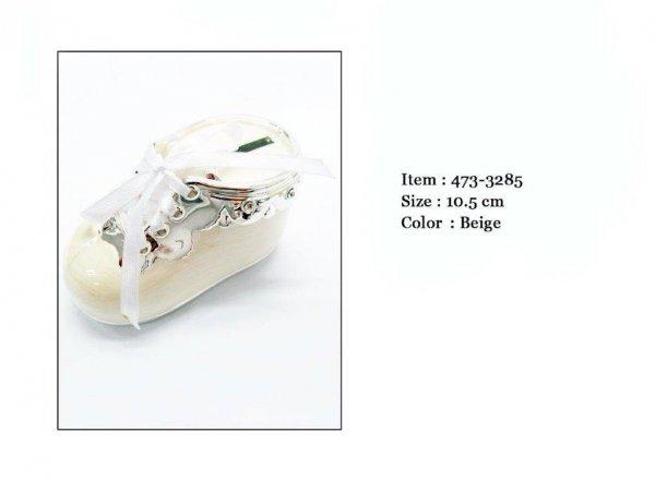 Skarbonka but w kolorze beżowym