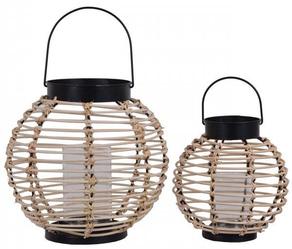 LAMPION WIKLINOWY DUŻY 29x29x28cm