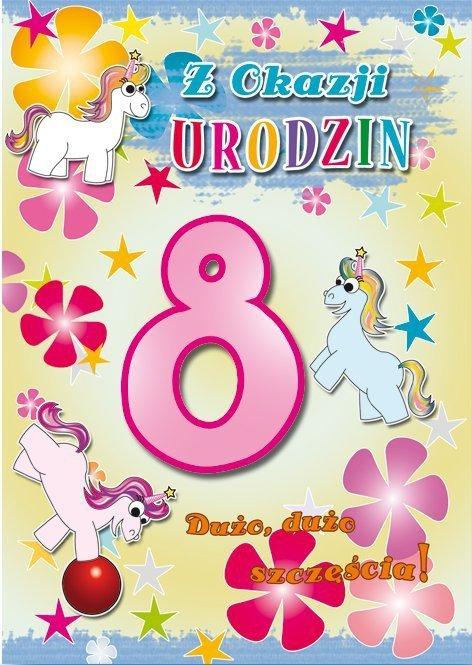 Kartka Z okazji urodzin 8