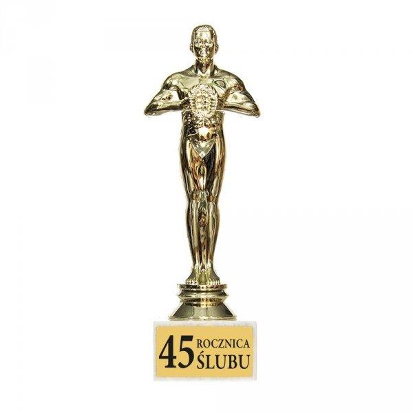 Statuetka  'Na 45 rocznicę ślubu'