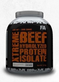 XTREME BEEF HYDROLYZED PROTEIN ISOLATE 1800g + Napalm Shot GRATIS !!!