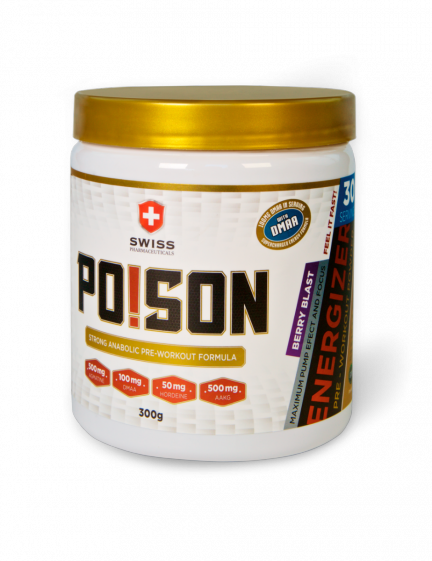 Poison (Strong anabolic pre-workout formula) Swiss Pharmaceuticals 300g