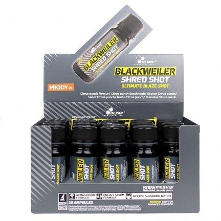 OLIMP BLACKWEILER SHRED SHOT - 60ML (3 porcje)