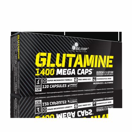 Olimp, L-Glutamine 1400mg 120 kapsułek