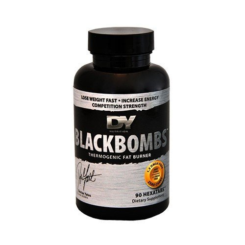 Dorian Yates Black Bombs 60 tabletek Termogenic Fat Burner